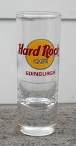 Hard Rock Cafe Edinburgh Shot Glass Red Letter - $32.62