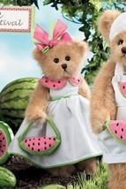 """Bearington Bears """"Wanda Melon""""  10"""" Plush Bear- #143153 - NWT- 2008 - $29.99"""
