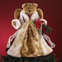 "Boyds Bears ""Noella Von Crimson"" 14"" QVC Angel Tree Topper- #4014675- NWT- 2001 - $69.99"