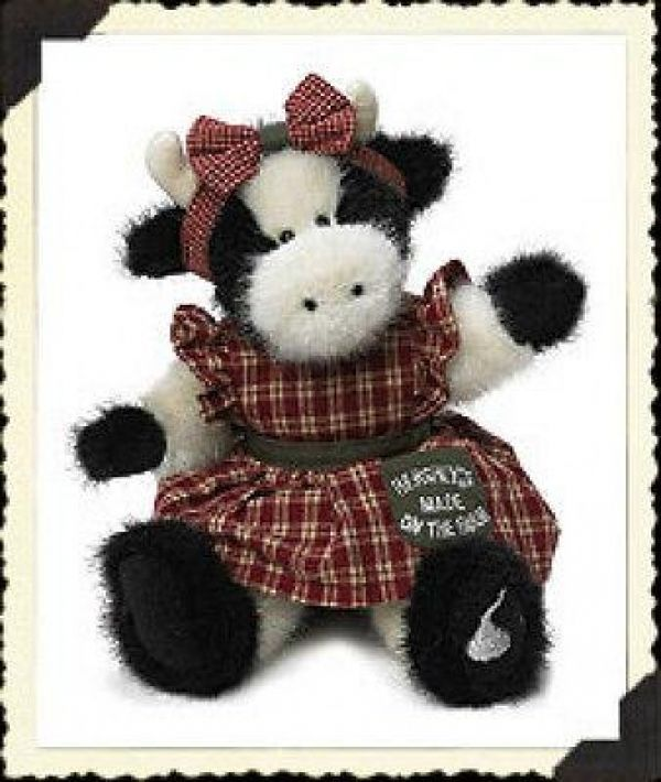 "Primary image for Boyds Bears ""KISSES"" 10"" Hershey® Exclusive Cow #94210HE- NWT- 2004"