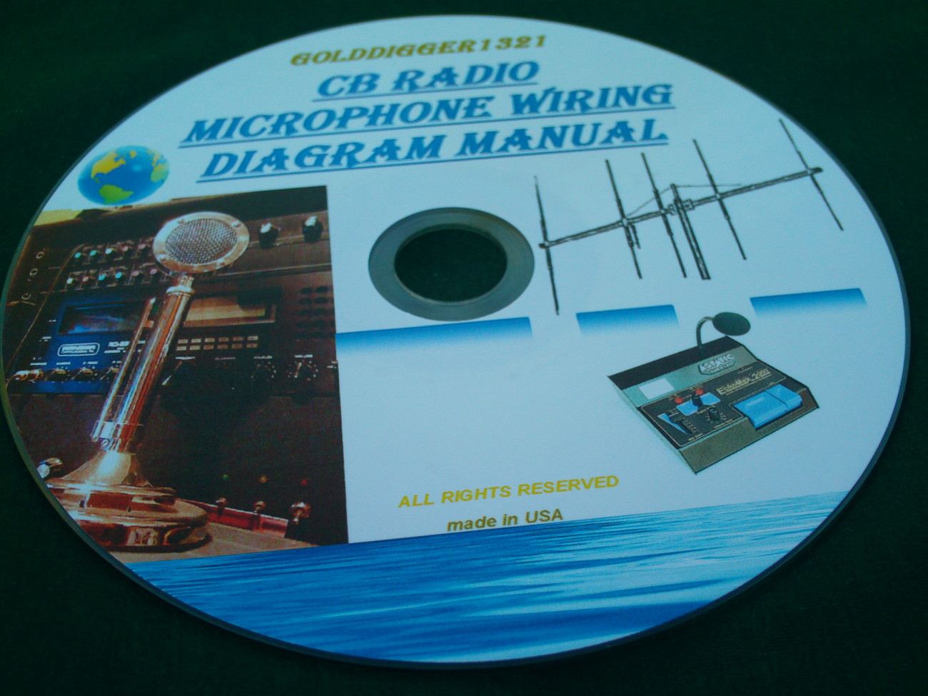 Cb Radio Microphone Wiring Diagram Manual On And 36
