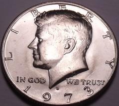 United States Unc 1973-D Kennedy Half Dollar~Free Shipping - $3.03
