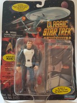 Classic Star Trek Movie Series Admiral Kirk 1995 Action Figure Playmates... - $9.49
