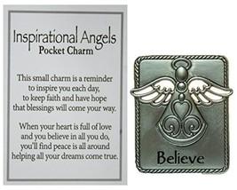 Ganz Inspirational Angel Pocket Charm with Story Card (Believe) - $2.39