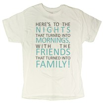 Men's Positive Family Message T-Shirt (2X-Large, White) - $14.36