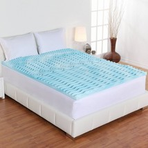 """Queen Size Pad 3"""" Inch 5 Zone Mattress Topper Memory Bed Orthopedic Brea... - $49.49"""