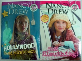 Nancy Drew new series activity 2 Lot Hollywood Head Scratchers & Still S... - $14.00