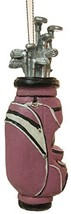 Christmas Decoration Golfer Golf Bag Christmas Tree Ornament (Pink) - $7.63
