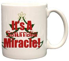It's A Saturnalia Miracle Holiday 11oz Coffee Mug - $14.36