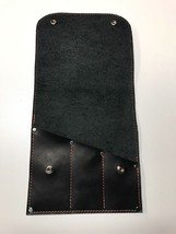 Leather Tool Roll 3 Pockets - $34.64