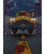 Grateful Dead Liquid Blue Taxi On Tour Greeting... - $5.99