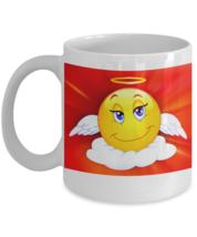 Angel Emoji - Funny Coffee Mug - FREE Shipping! - $19.95