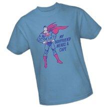 Superman - Wears A Cape T-Shirt Size L - $4.76