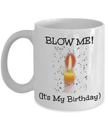 Birthday Blow Job Mug 15oz Novelty Ceramic Coffee Tea Cup Birthdays Gift... - $19.75