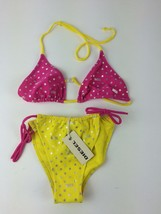 Diesel Kids Girls' Mastana Bikini Top and Bottom 00J0F1 Size 16Y Color Y... - $18.05