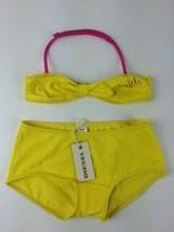 Diesel Kids Girls' Masity Bikini Top and Bottom 00J0F2 Size 16Y Color Ye... - $18.05
