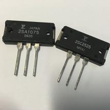 1 Pair | Fuji 2SC2525 + 2SA1075 NPN + PNP Audio Frequency Power Amplifier - $22.72