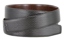 Men's Reversible Genuine Leather Dress Casual Belt Strap with Prism Design - ... - $8.86