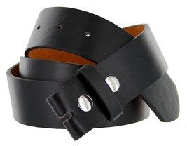 """Bonded Genuine Leather Mens Belt Strap (Large(38""""-42""""), Black) - $4.94"""