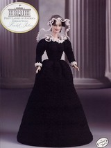 Rachel Jackson Outfit fits Barbie Doll First Ladies Crochet Pattern Leaflet - $6.27