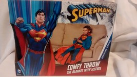 Kids' Superman Costume Comfy Throw Blanket With... - $25.71