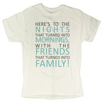 Men's Positive Family Message T-Shirt (X-Large, White) - $12.43