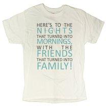 Men's Positive Family Message T-Shirt (X-Large, White) - $12.43