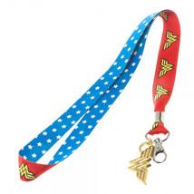 Wonder Woman Lanyard Keychain Red - $10.98