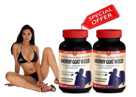 Long Hard Erection - PREMIUM HORNY GOAT WEED SEXUAL VITALITY - L-Arginin... - $21.46