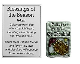 Ganz Blessings of the Season Thanksgiving Charm With Story Card! (Everyd... - $74,26 MXN