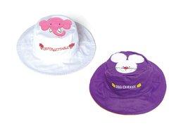 Luvali Convertibles LCKDS4LEM Elephant Mouse Reversible Kids Hat Large - $19.15