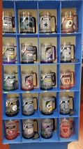 NFL BEER Stein Freezer Mug Glass 16oz refreezeable mug=--MANY TEAMS AVAI... - $19.99