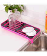 Multi-Purpose Dish Draining Tray Kitchen Organizer Double Layer Rack Sin... - $13.69