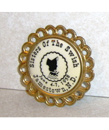 Sisters of the Swish Jamestown N.D. 1958 Button Pin - $6.99