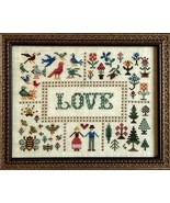 Birds Bees and Trees cross stitch chart The Nee... - $9.90