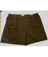 Men's St. John's Bay Hiking Shorts Dark Charcoal Size 44 NEW  - $28.70
