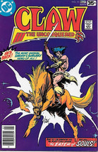 Claw The Unconquered Comic Book #10, DC Comics 1978 FINE- - $2.75