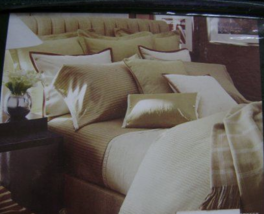 Ralph Lauren 52ND Street 2 Stand Pillowcasses 370TC 100%COTTON Made In Italy New - $149.90