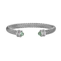 Phillip Gavriel Green Amethyst Popcorn Cuff Bracelet - $499.99