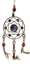 Crystal Expressions 10 Inch Beaded Dream Catcher (Purple) - $222,60 MXN