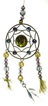 Crystal Expressions 10 Inch Beaded Dream Catcher (Yellow) - $222,60 MXN