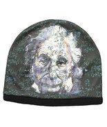 Albert Einstein Pop Art Sublimated Beanie Hat - $19.20