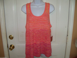 Mossimo Pink Sweater Tank Size Large Women's  NEW LAST ONE HTF - $39.99