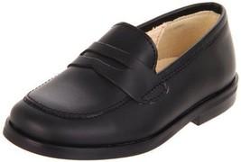 Primigi Yoel-E Black Toddler Boys Leather Loafe... - $59.39