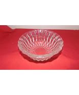 "Vintage Diamond Cut Glass Dish-Nuts-Relish-Pickles-Wedding-2 1/2"" Deep-6... - $10.00"