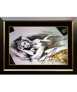 "Framed Titanic - Jack's ""Drawing"" 20x24 - Facsimile Autographed by James... - $400.00"
