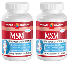 Helps Reduce Exercise - Induced Inflammation Tablets - MSM 1000mg - MSM ... - $16.66