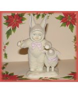 Department 56 Snowbunnies Snowbabies Bunny with... - $19.99