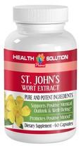 St. John's Wort - Supports Positive Mental Outlook (1 Bottle, 60 Capsules) - $12.16