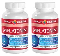 Melatonin Liquid - Maintains Body's Circadian Rhythm (2 Bottles,180 Loze... - $21.46